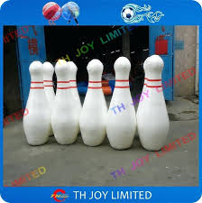 1 inflatable bowling ball pins set human sports in bouncers from toys hobbies on giant outdoor