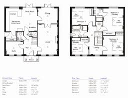 simple 4 bedroom 2 story house plans lovely 5 bedroom cottage house plans four bedroom bungalow