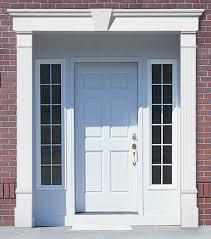 front door trimVinyl Door Surrounds Vinyl Door Trim Vinyl Door Molding