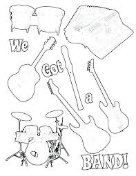 Music Colouring Pages Pdf Free Coloring Pages Musical Instruments