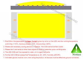 <b>10PCS</b>/lot Ultra Bright <b>Waterproof DC 12V</b> 14V 10W LED COB Strip ...