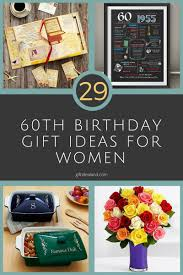 29 great 60th birthday gifts for her special