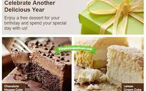 deals at olive garden. Free Dessert At Olive Garden Deals