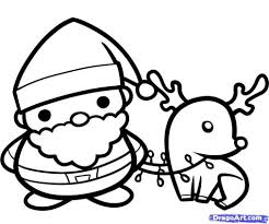 Small Picture Coloring Pages Rudolph The Red Nosed Reindeer Coloring Page Santa