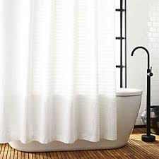modern bathroom shower curtains. Delighful Shower Ribbon White Shower Curtain To Modern Bathroom Curtains 0