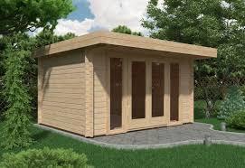 summer house office. Milan Log Cabin 4m X 3m (44mm) - Garden Room Summer House Office