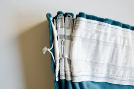 fancy pin hook curtains decorating with how to triple pinch pleat curtains with ikea hardware visual