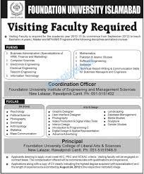 Art And Design Universities In Islamabad Foundation University Islamabad 2012