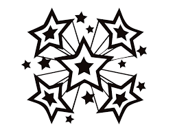 Small Picture Stars Coloring Pages Bestofcoloringcom