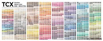Color Table Pantone Of The Fashion Home And Interiors