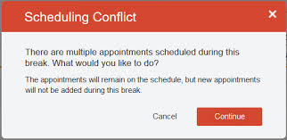 Schedule Conflict Appointments Scheduling Staff Appointment Availability