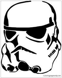 Stormtrooper Star Wars Coloring Page Free Coloring Pages Online