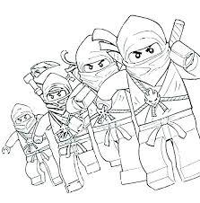 Lego Ninjago Coloring Pages Jay Us Stockware