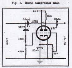 technical preservation sound 1954 limiter schem