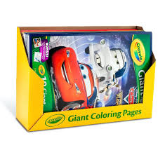 Bulk Coloring Books And Crayons And Giant Coloring Pages Assorted