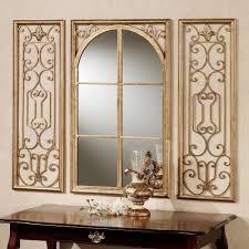 provence bronze mirror set of three