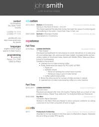 Business Resume Templates Gorgeous 40 Latex Resume Templates Free Word PDF Sample