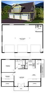 3 car garage with apartment above plans. #garage #apartmentplan 90941   the two bedroom suite over this three car garage is · apartment floor plansgarage 3 with above plans