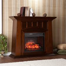 w infrared electric fireplace in espresso