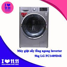 Shop bán Máy giặt sấy LG FC1409D4E (Bạc) giá chỉ 14.200.000₫