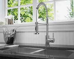 766 C Chrome Spring Spout Faucet
