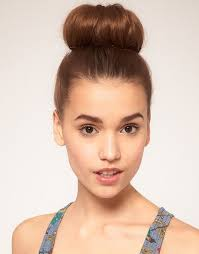 the perfect top knot bun hairstyle