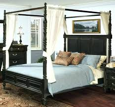 Canopy Bed Curtains Drapes For Full Size Of King With Best ...