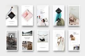 Instagram Design Instagram Stories Pack By Pixelove On Creativemarket