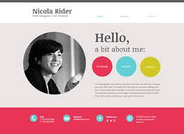 ... Web Resume 9 15 Best Free Online CV Website Templates And Themes ...