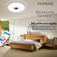 Mumeng Led Plafondlamp 32 W Woonkamer Muziek Lamp Bluetooth Speaker