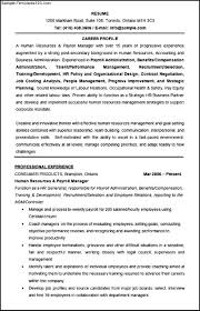 resume human resources operations manager cipanewsletter resume templates human resources manager resume how to human