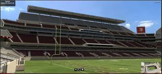 Kyle Field 3d Seating Chart 2015 Kyle Field 3d Seating Model Texags