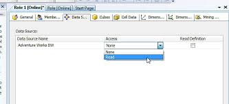 Msas Cubes Configuring Permissions For Sql Server Analysis Services