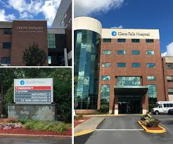 Exterior Signage Design Classy Illuminated Wayfinding At Glens Falls Hospital Timely Signs Of