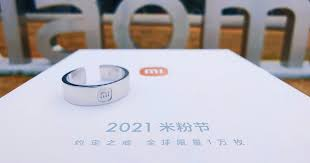 Xiaomi introduced a limited edition ring during the <b>Mi Fan Festival</b> ...