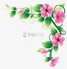 free png flower borders png image with
