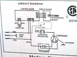 refrigerator wiring diagram compressor fridge zer circuit related post
