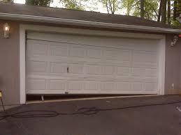broken garage doorBroken Garage Door 2  A Plus Garage Doors