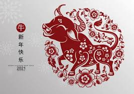 Bright and festive collection of vector graphics in traditional eastern style with rats, fireworks, lanterns, floral elements, clouds, oriental patterns and abstract elements, to. Happy Chinese New Year 2021 Wallpaper And Images Ox Year Images