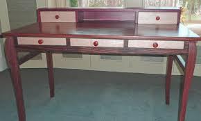 purple heart wood furniture. Gallery. Purple Heart Desk Wood Furniture