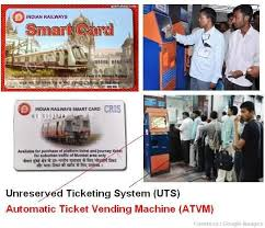 How To Use Ticket Vending Machine In Railway Station Best ATVM For Mumbai Local Trains Local Train Ticket Smart Card Machine