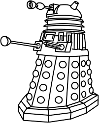 dalek clip art | More from The2ndD | Kid Art Projects | Pinterest ...