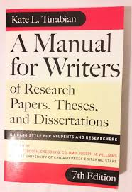 017 Manual For Writers Of Research Papers Theses And Dissertations