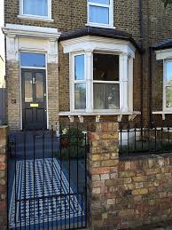front garden ideas victorian home. front garden dulwich clapham balham victorian mosaic tile path and slate paving yellow stock wall london ideas home n