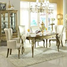 gold dining room set antique whole dine suppliers white and cool table brushed chandelier w