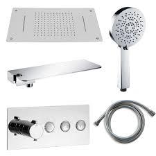 Duschsäule Duschpaneel Duschsystem Bernstein Badshop