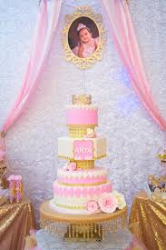 Karas Party Ideas Gold Pink Royal Princess Birthday Party