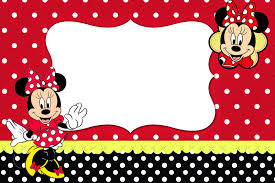 minnie red black yellow and polka dots printable minnie red black yellow and polka dots printable invitations