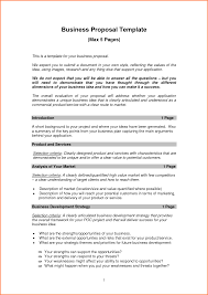 Free Project Proposal Template 24 New Business Proposal Template Free Project Proposal 7