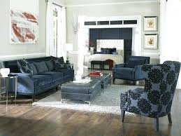 navy couches for sectional sofa with white piping living room